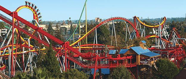 Knotts Berry Farm Eglence Parki