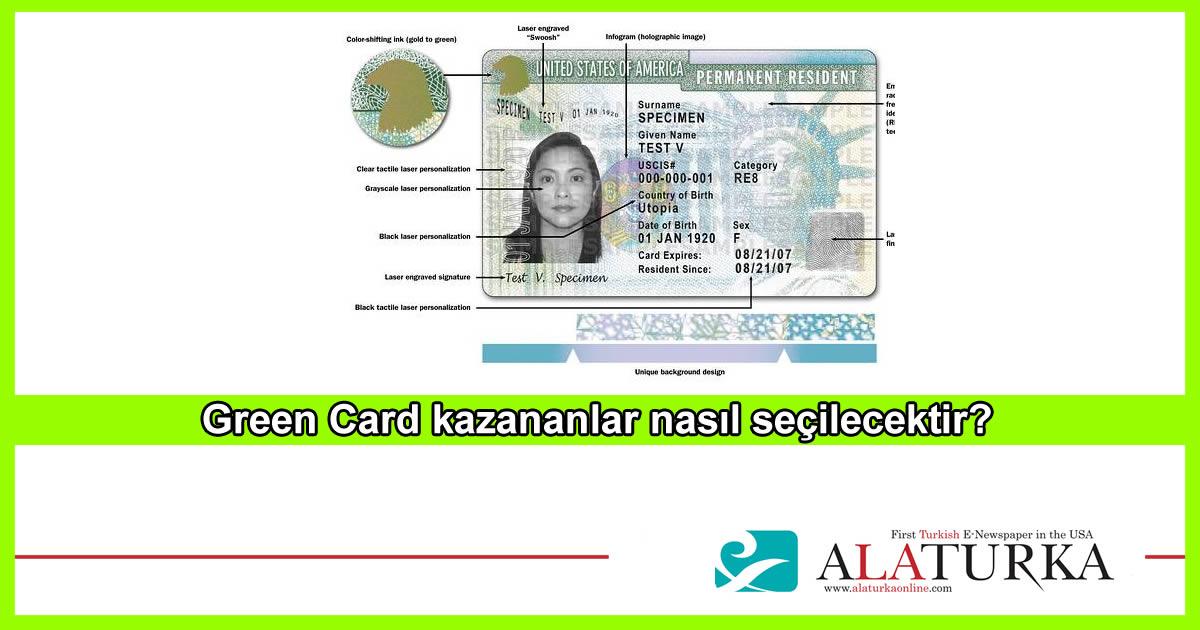 Green Card Kazananlar Nasil Secilecek
