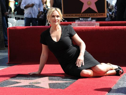 Kate Winslet Walk of Fame
