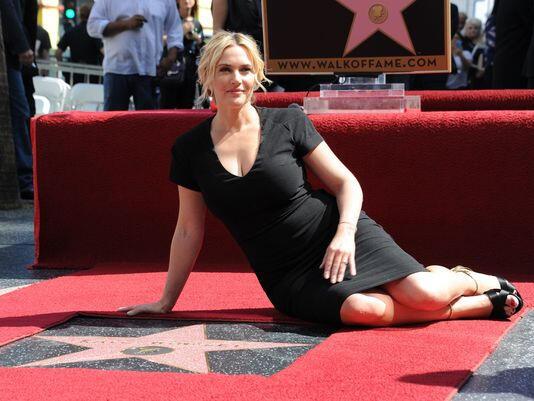 Kate Winslet Walk of Fame