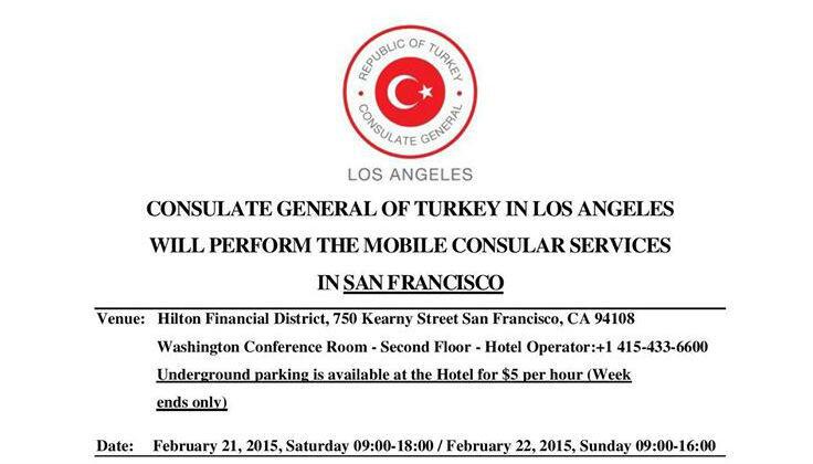 The mobile consular services in san francisco alaturka for Consular services