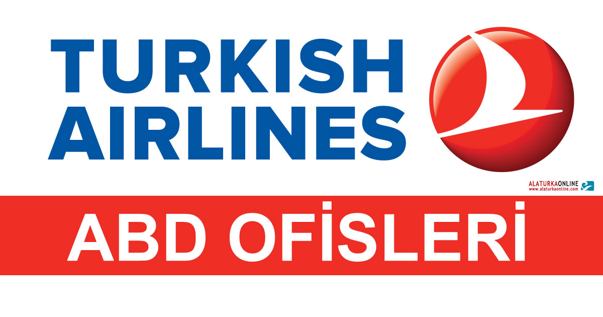 Turk Hava Yollari Turkish Airlines THY ABD