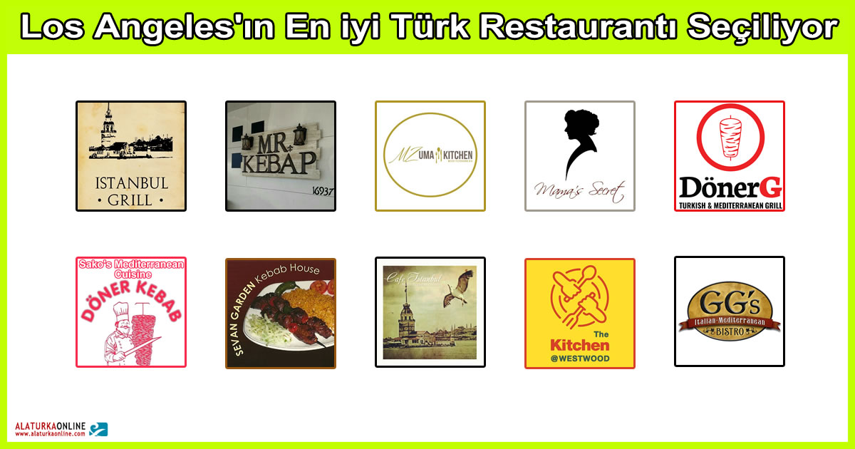 Los Angeles En Iyi Turk Restauranti