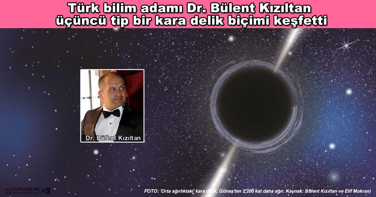 Turk Bilim Adami Dr Bulent Kiziltan Ucuncu Tip Karadelikler