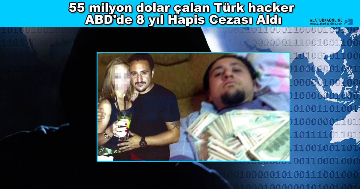55 milyon dolar calan Turk Hacker Ercan Findikoglu