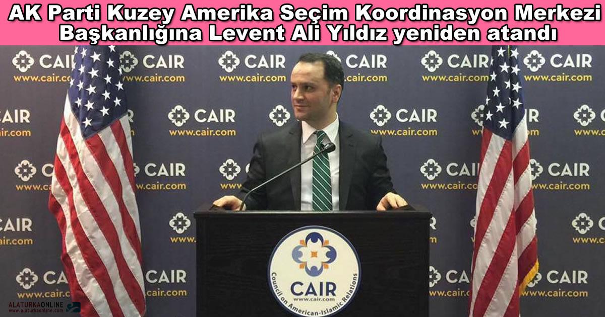 Ak Parti Amerika Referandum Calismalari Levent Ali Yildiz