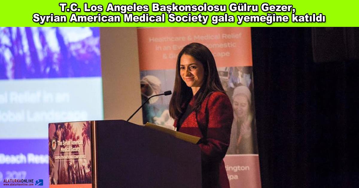 Gulru Gezer Syrian American Medical Society Gala