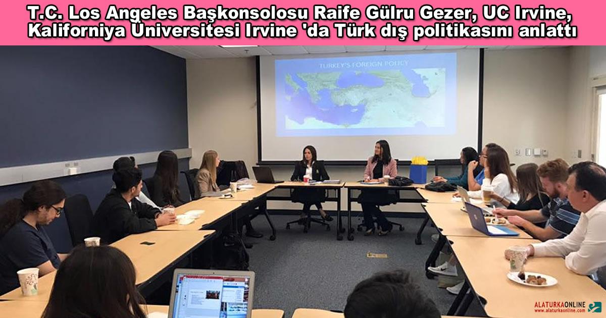 Gulru Gezer Turk Dis Politikasi Sunumu UC Irvine 1