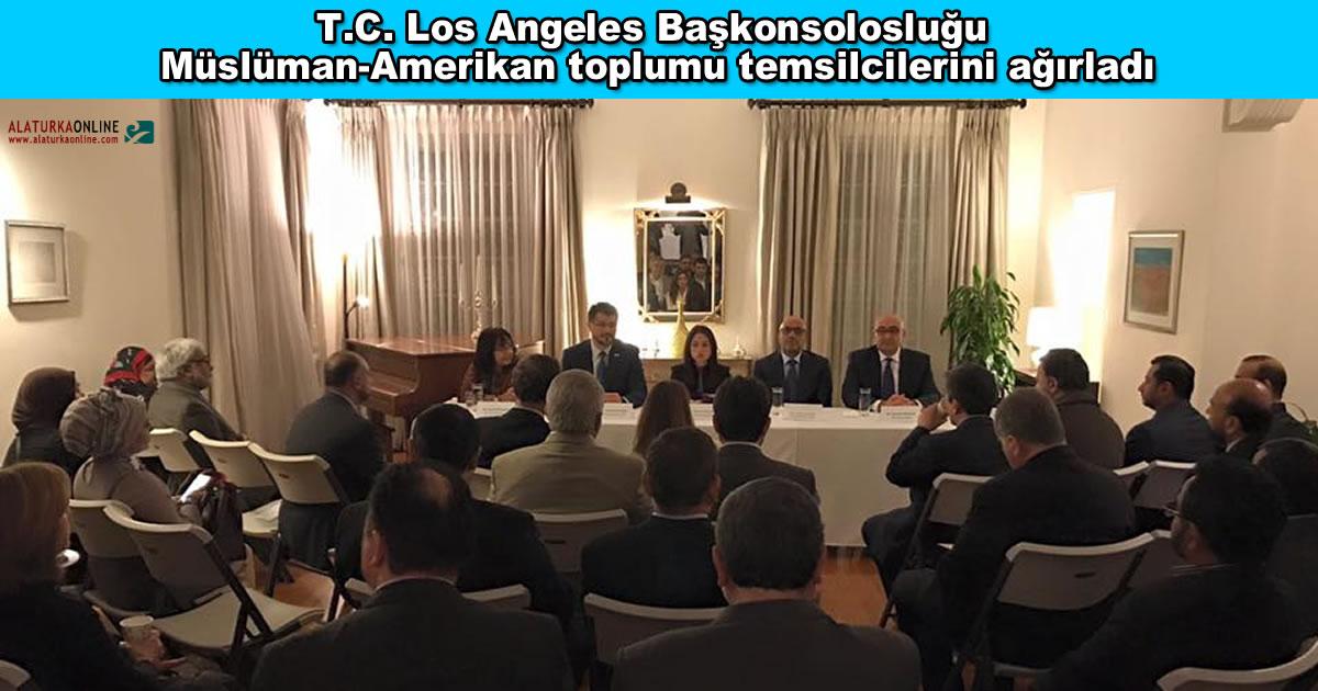 Los Angeles Baskonsoloslugu Musluman Amerikan Toplumu